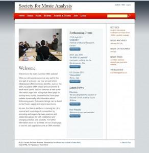 New SMA Website
